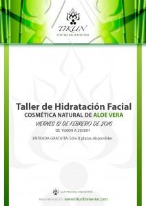 taller de hidratacion facial cosmetica natural aloe vera tikun centro del bienestar