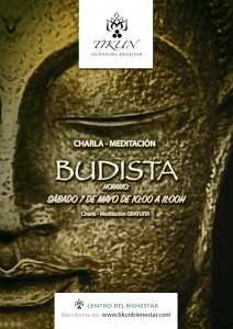 charla meditacion budista gratuita tikun centro del bienestar cullar vega granada andalucia