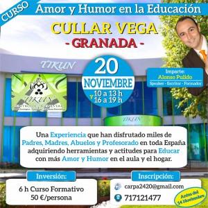 Ahumor educando con amor y humor tikun centro del bienestar cullar vega granada andalucia españa