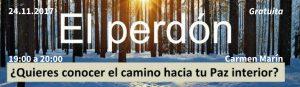 Carmen Marín charla sobre el perdon un curso de milagros, tikun centro del bienestar cullar vega granada andalucia españa