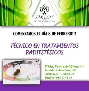 tecnico en tratamientos radiestésicos pendulo hebreo tikun centro del bienestar cullar vega granada andalucia españa