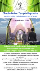 Charla Terapia Regresiva