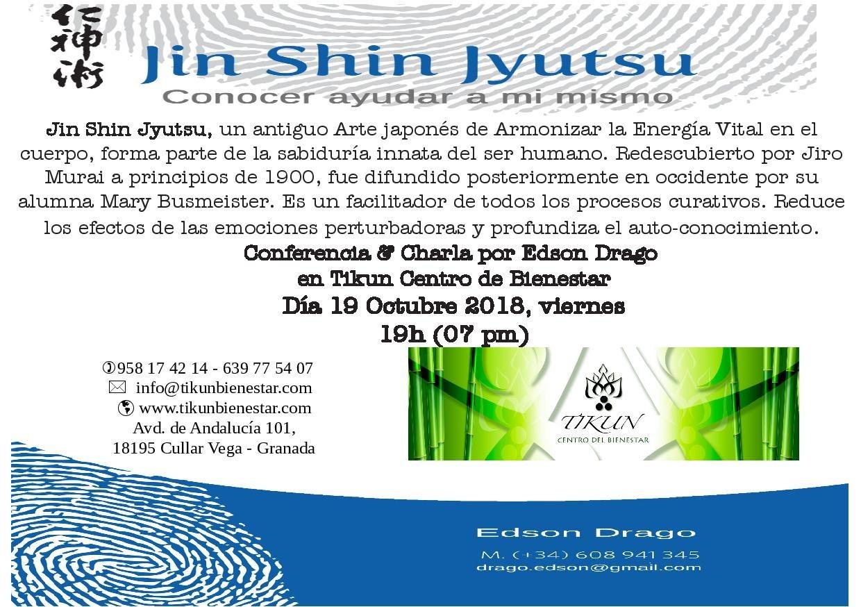 Jin Shin Jyutsu tikun centro del bienestar cullar vega